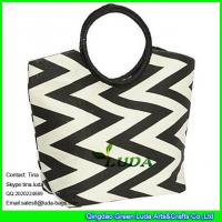 Buy cheap LUDA women's straw handbag casual paper straw travel shoulder bag from wholesalers