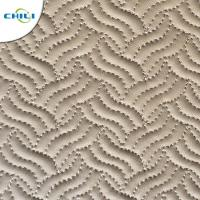 Buy cheap PVC Diamond Quilted Leather Fabric Vinyl Upholstery Printed  Faux Snakeskin from wholesalers
