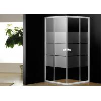 Buy cheap 5mm Tempered Glass Bathroom Shower Enclosures Corner Shower Cubicles 800 x 800 from wholesalers