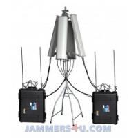 Buy cheap CT-8078ATW-HGA 640W UAV Drone Jammer 2.4Ghz 5.8Ghz GPS 433Mhz 900Mhz up to 8km from wholesalers