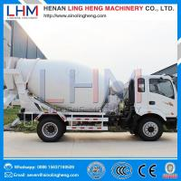 Buy cheap Whole sale high quality competitive price 4m³ Small Concrete Mixer Truck from wholesalers