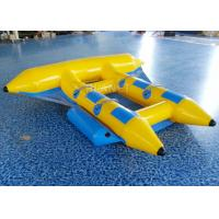 Buy cheap Towable Inflatable Flying Fish , Inflatable Banana Boat 2.8 * 2.6 Meter from wholesalers