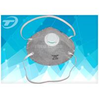 Buy cheap valved FFP3 dust mask with activated carbon ,  filter penetration at least 99% of airborne particles from wholesalers