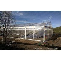 Buy cheap Wind Resistant Transparent Fabric clear event tent Canopy Structure from wholesalers