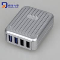 Buy cheap Luggage Design 4.2A USB Hub Charger with 4 Ports (LCK-MU11) from wholesalers