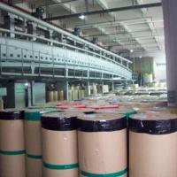 Buy cheap Water-based acrylic clear/brown BOPP jumbo roll tape, 1280mmx4000m from wholesalers