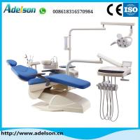 Buy cheap Hot sale electrical dental chair unit with down-mounted instrument tray from wholesalers