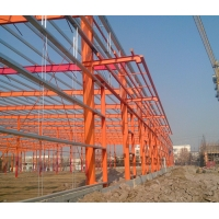 Buy cheap 10mm PVC Gutter DFT 80um Steel Structure Warehouse from wholesalers