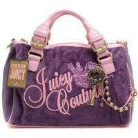 Buy cheap Juicy Couture Queen Velour Madge Bag Purple from wholesalers