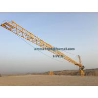 Buy cheap TC7040 16TONS Remote Control Real Estate The Tower Crane Cat Head Type from wholesalers