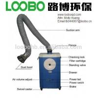 Buy cheap Portable Fume Extractor and Dust Cleaner for welding/metal fabrication field from wholesalers