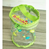 Buy cheap Non-toxic Round PVC Baby Toys / Clothes Organizer Pouch for Promotional Dispaly from wholesalers