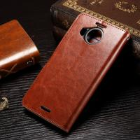Buy cheap Nokia 950XL Nokia Lumia Leather Case Anti - Dirty Light Weight Crazy Horse Material from wholesalers