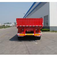Buy cheap Bulk Cargo Open Side Wall Trailer Loading Container Semi Trailer Red from wholesalers
