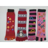 Buy cheap Wholesale Stocks Fastest Delivery Cheapest Keep Warm Five Toes Stockings Sweet Apparel Hosiery Children Girls Socks from wholesalers