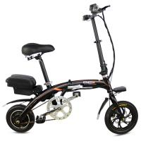 Buy cheap C1 Adult Durable Folding Electric Bike 36V 10.4AH Lithium Battery Intelligent LCD Screen Meter from wholesalers
