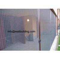 Buy cheap Eco Friendly Weatherproof Plisse Screen With 0.33mm Thickness from wholesalers