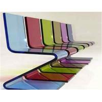 Buy cheap Decorative Plexiglass Cast Acrylic Sheet For Furniture , 18mm / 20mm Acrylic Sheet from wholesalers