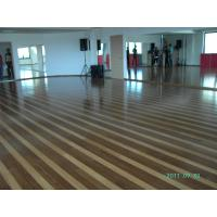 Buy cheap Anti - Scratch Coating , Aluminum Oxide Finish Engineered Strand Woven Bamboo Flooring CE from wholesalers