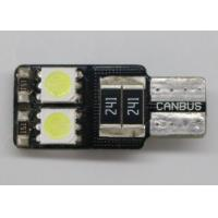 Buy cheap Custom Made LED Car License Plate Lights T10 W5W SMD5050 Interior Bulbs product