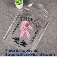 Buy cheap 100% Manufacturer Eco-Friendly,Reusabl Promptly Delivery Reasonable Price,Custom printing Large Capacity Women Clear PVC from wholesalers