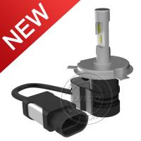 Buy cheap Newest All-in-one 30W Led Headlight Kit 8-32V 4200LM H4 Auto Car Headlight Bulb product