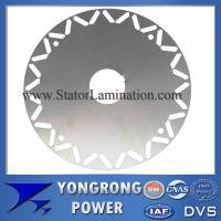Buy cheap Premium Efficiency Permanent Magnet Sychronous Motor Silicon Steel Die Cast Silicon Steel Rotor Lamination from wholesalers