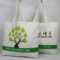 Buy cheap Mini Custom Printed Canvas Tote Bags , Reusable Cotton Tote Shopping Bag from wholesalers
