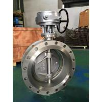 Buy cheap Double Flange Butterfly Valve, A351 CF8M, 150LB, DN400 from wholesalers