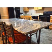 Buy cheap 37 X 96 Granite Stone Kitchen Countertops With Bullnose Edges , Grey Color from wholesalers