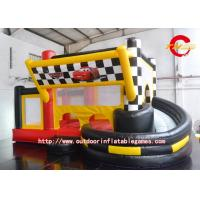 Buy cheap Cartoon Toddler Inflatable Bed / Indoor Inflatable Bounce Toys from wholesalers