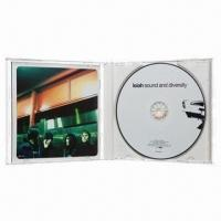 Buy cheap CD/DVD jewel case packing with full color inlay and insert from wholesalers