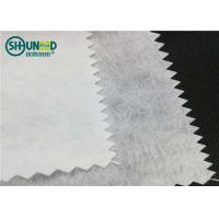 Buy cheap Airlaid 90gsm polyester/viscose cut away nonwoven embroidery backing paper fabric from wholesalers