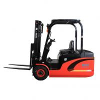 China Large Capacity Electric Powered Forklift 2 Stage / 3 Stage AC Power Powered Pallet Truck on sale