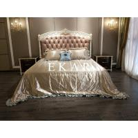 Buy cheap Wooden Frame Bedroom Furniture Luxury Italian Bed from wholesalers