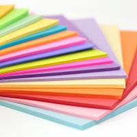 Buy cheap 70gsm Thick Multi Colored Printing Paper Sheet For Office 20 * 30 Cm from wholesalers