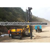 Buy cheap Hydraulic  power crawler rotary drilling rig machine  80 -105mm  25m deepth from wholesalers