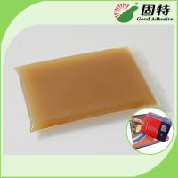 Buy cheap Amber Block Bookbinding Hot Melt Glue For  Book-Facing For Album And Advanced Notebook from wholesalers