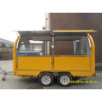 Buy cheap Commercial Outdoor Mobile Kitchen Trailers By Fiberglass And Stainless Steel from wholesalers