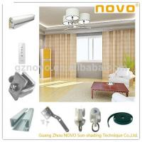 Buy cheap White Motorized remote controller electric luxury electric curtain motor from wholesalers
