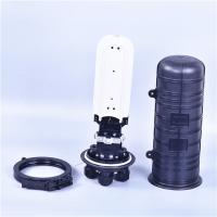 Buy cheap 48 Core Fiber Optic Splice Closure Vertical / Dome Type Heat Shrinkable Structure product