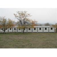 Buy cheap Polystyrene Panel Residential Solid Prefabricated Conex Box Homes from wholesalers