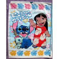 Buy cheap Light Resistant Plastic Drawstring Bags With 7 Colors Gravure Printing from wholesalers