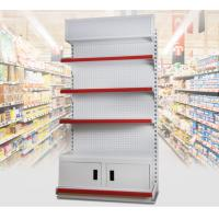 3 Layer Supermarket Display Shelving Pharmacy Display Racks With LED Light