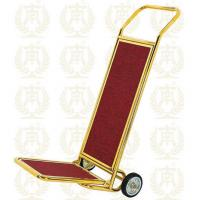 Buy cheap Hotel Luggage Trolley Gold Room Service Equipments 450*540*1200mm from wholesalers