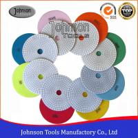 Buy cheap Various Color Granite Marble Diamond Polishing Pads Fast Speed  from wholesalers