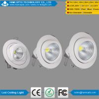 Buy cheap China dimmable cob led gimbal downlight 15w 20w 25w 30w led recessed down light from wholesalers