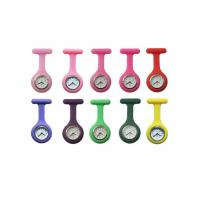 Buy cheap Customerized Promotion Silicone Nurses Fob Watch With Silicon Wristband 85 x 39mm from wholesalers