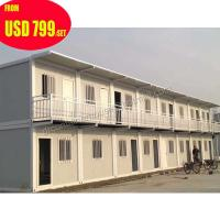 Buy cheap prefabricated 20ft mobile office european container house luxury from wholesalers