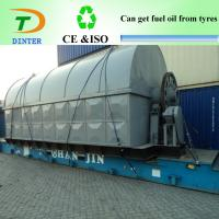 Buy cheap Waste tyre Distillation oil recycling machine to diesel from wholesalers